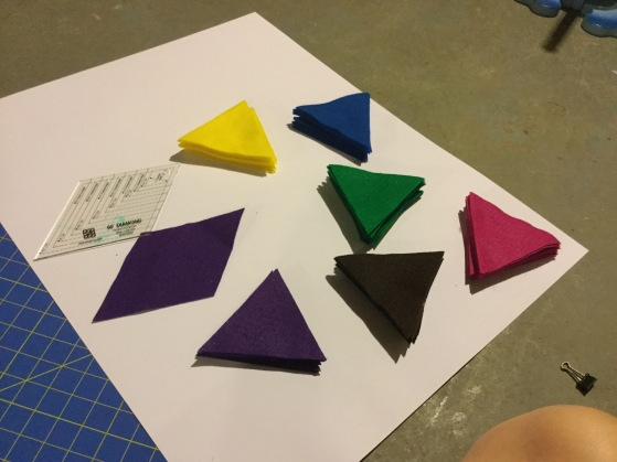 cut triangles