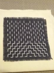 Stitching by Katherine Seaton
