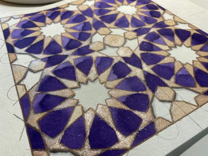 12fold rosette detail
