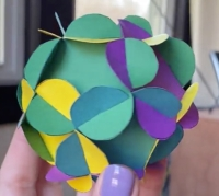 Day39 MAC flowered dodecahedron