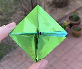 Day42 origami octahedron